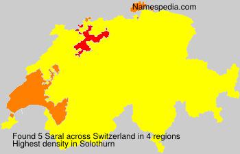 Familiennamen Saral - Switzerland