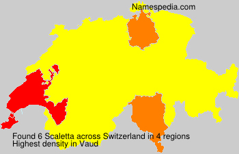 Surname Scaletta in Switzerland