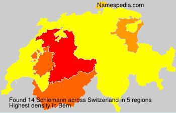 Surname Schiemann in Switzerland