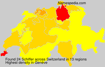 Surname Schiffer in Switzerland