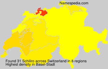 Surname Schiliro in Switzerland