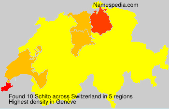 Surname Schito in Switzerland