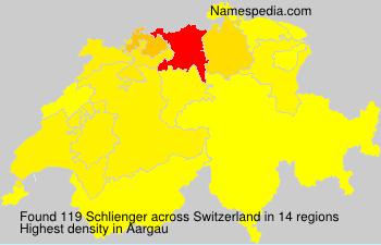 Familiennamen Schlienger - Switzerland