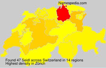Surname Seidl in Switzerland