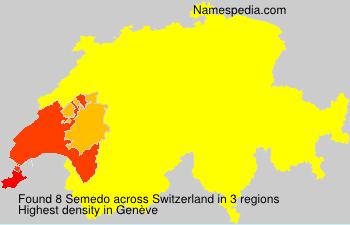 Familiennamen Semedo - Switzerland