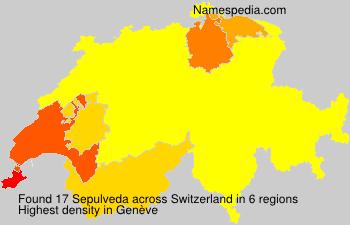 Surname Sepulveda in Switzerland