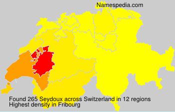 Familiennamen Seydoux - Switzerland