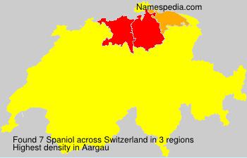 Surname Spaniol in Switzerland