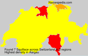 Surname Squillace in Switzerland