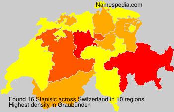 Surname Stanisic in Switzerland
