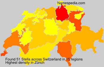 Surname Stella in Switzerland