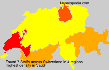 Surname Stolfo in Switzerland