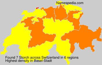 Familiennamen Storch - Switzerland