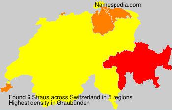 Familiennamen Straus - Switzerland