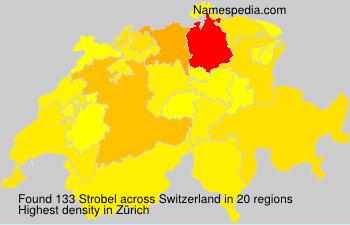 Surname Strobel in Switzerland