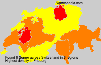 Surname Sumer in Switzerland