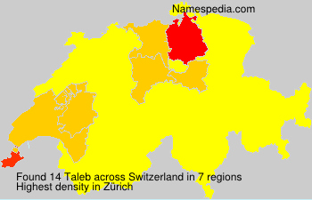 Surname Taleb in Switzerland