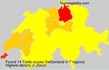 Surname Taleb in Switzerland