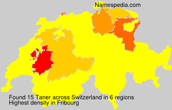 Surname Taner in Switzerland
