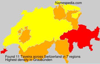 Surname Taveira in Switzerland