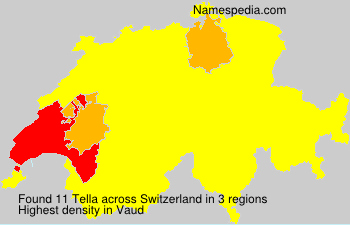 Surname Tella in Switzerland
