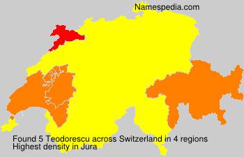 Familiennamen Teodorescu - Switzerland