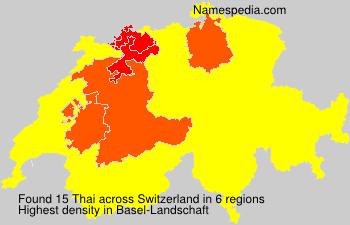 Thai - Switzerland