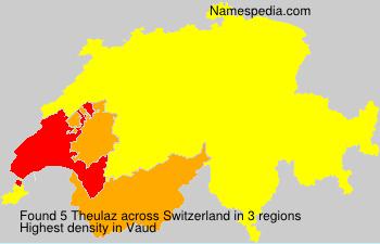 Familiennamen Theulaz - Switzerland