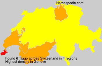 Familiennamen Tiago - Switzerland