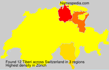 Surname Tiberi in Switzerland