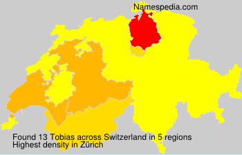 Familiennamen Tobias - Switzerland