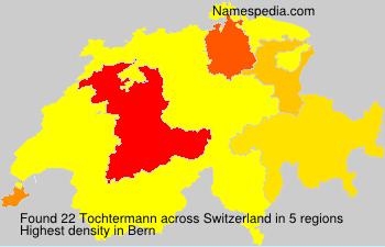 Surname Tochtermann in Switzerland