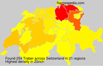 Familiennamen Traber - Switzerland