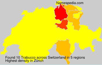 Familiennamen Trabucco - Switzerland