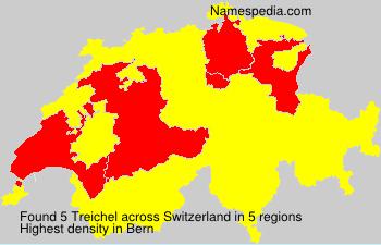 Familiennamen Treichel - Switzerland