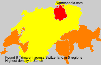 Surname Trimarchi in Switzerland