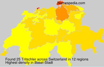 Familiennamen Tritschler - Switzerland