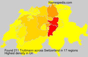 Familiennamen Truttmann - Switzerland