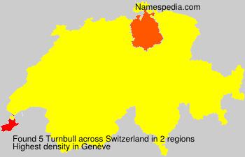 Surname Turnbull in Switzerland