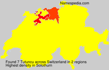 Surname Tutuncu in Switzerland