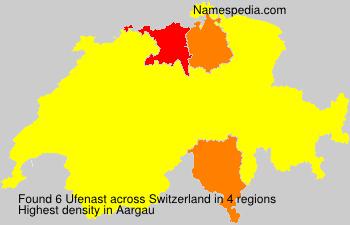Familiennamen Ufenast - Switzerland