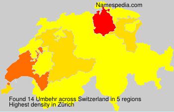 Umbehr - Switzerland