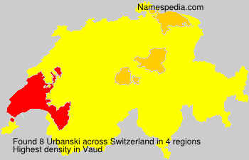 Surname Urbanski in Switzerland