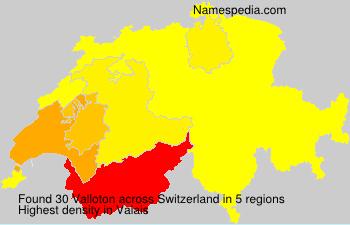 Familiennamen Valloton - Switzerland