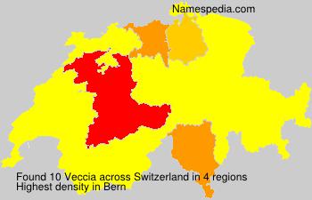Surname Veccia in Switzerland
