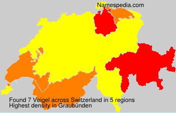 Surname Veigel in Switzerland