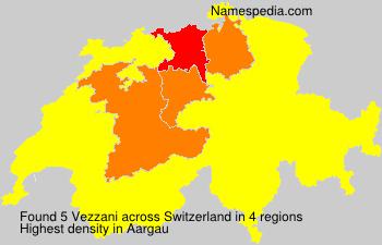 Surname Vezzani in Switzerland