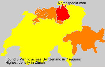 Surname Visnjic in Switzerland