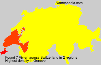 Surname Vivien in Switzerland