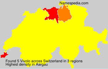 Surname Vivolo in Switzerland